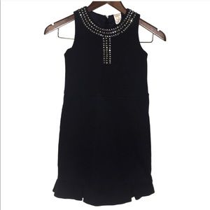 Crewcuts Navy Blue Embellished Dress